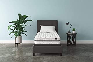 Ashley Furniture Signature Design - 10 Inch Chime Express Hybrid Innerspring - Firm Mattress - Bed in a Box - Twin - White