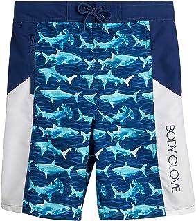 Body Glove Boys' Board Shorts - UPF 50+ Quick Dry Bathing Suit (Big Boy)