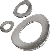 OPIOL KWALITY   veerringen DIN 137 gegolfd roestvrij staal A2 (50 stuks)   bijsluitringen   sluitringen   golfschijven   v...