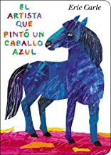 el caballo azul