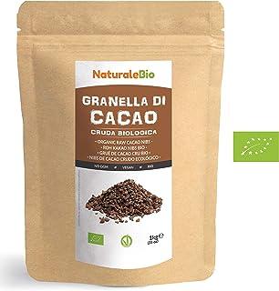 Nibs de Cacao Crudo Ecológico 1 kg. 100% Puntas de Cacao