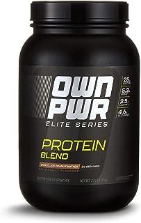 OWN PWR Elite Series Protein Powder, Chocolate Peanut Butter, 2 lb, Protein Blend (Whey Isolate, Milk Isolate, Micellar Casein)