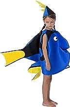 Gojoy Shop- Disfraz de Pez Azul para Niños y Niñas