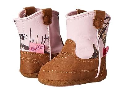 M&F Western Kids Baby Bucker Jobie (Infant/Toddler) (Mossy Oak/Pink) Cowboy Boots