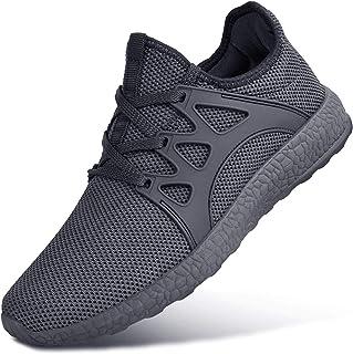 Feetmat Boys Sneakers Lightweight Breathable Kids Tennis Shoes for School Dark Grey2 Little Kid