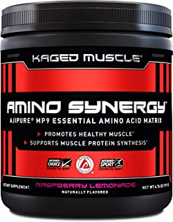 Kaged Muscle Amino Synergy, Vegan EAA Powder, Essential Amino Acid Supplement with Coconut Water, Essential Aminos, EAA's,...