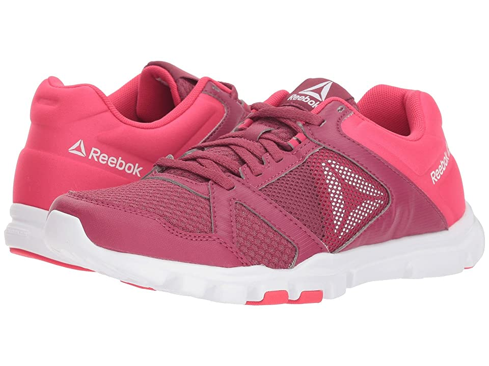 Reebok Yourflex Trainette 10 MT (Twisted Berry/Twisted Pink/White) Women