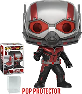 Funko Pop! Marvel: Ant-Man & the Wasp - Ant-Man Vinyl Figure (Bundled with Pop Box Protector Case)