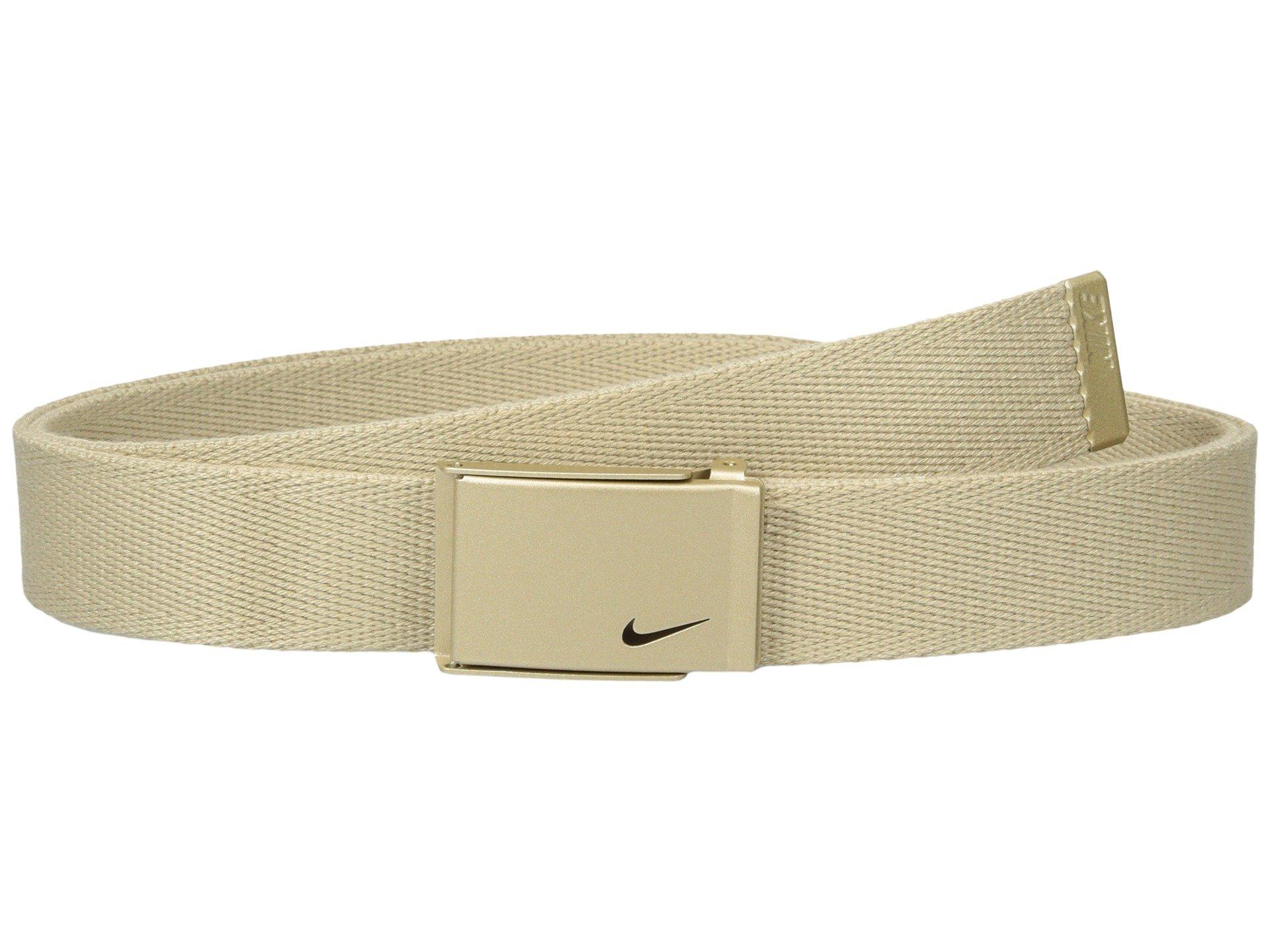 Correa o Cinturon para Mujer Nike Metallic Single Web  + Nike en VeoyCompro.net