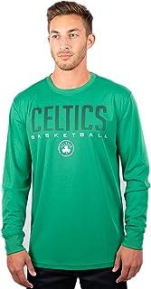 Ultra Game NBA Men's Active Long Sleeve Pullover T-Shirt