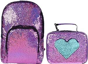 Flip Sequin Backpack for Girls Glitter School Bags Child Kids Full Size Magic Sequence Back Pack