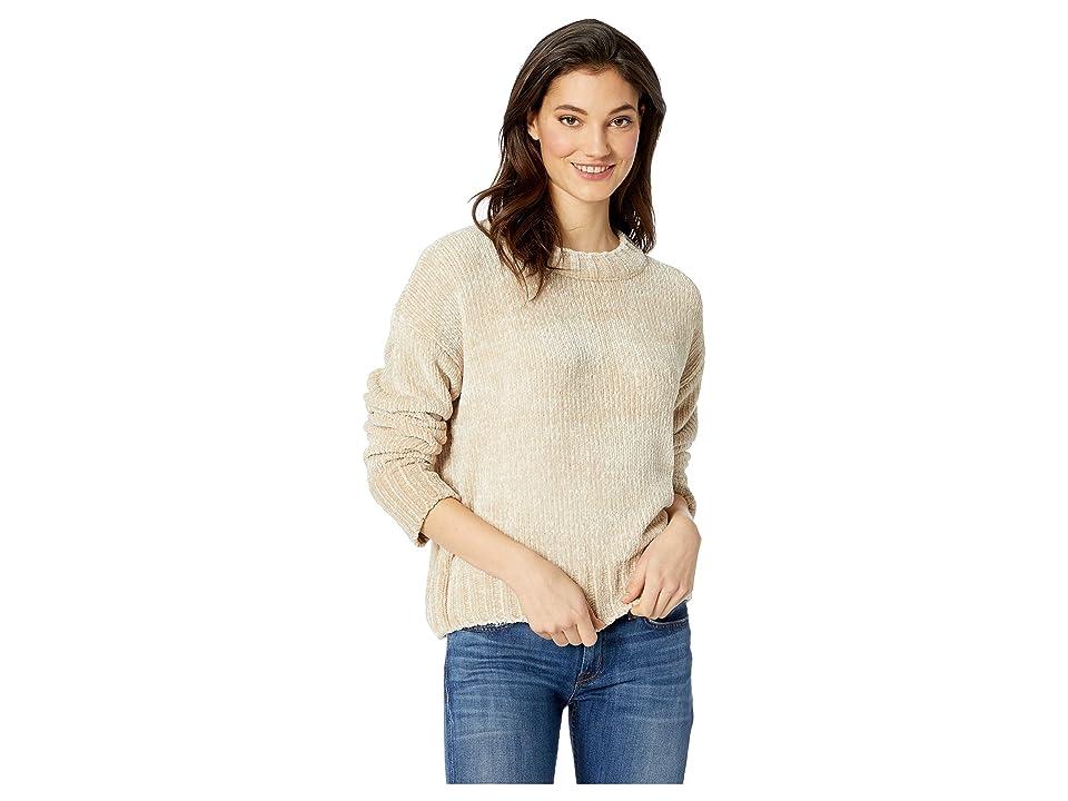 Sanctuary Chenille Pullover Sweater (Champagne) Women