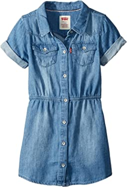 Short Sleeve Western Dress (Toddler)