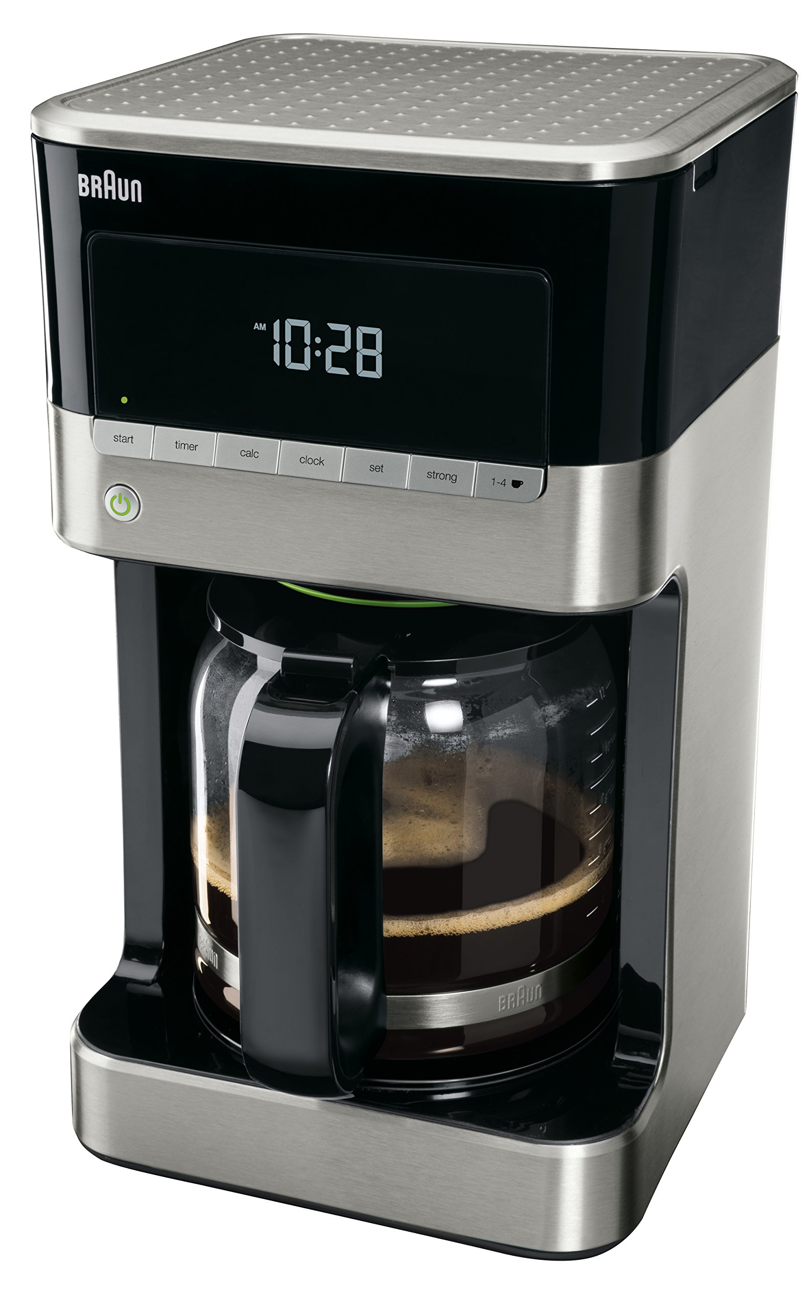 Braun KF7120 Filter Drip Coffee Maker, 12 cup, Black: Amazon.sg: Home