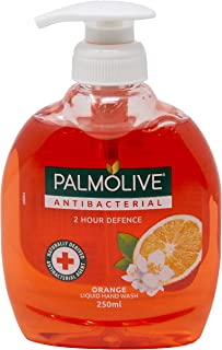 Palmolive Antibacterial Liquid Hand Wash Orange, 250 mL