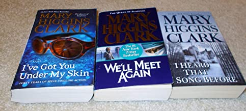 Mary Higgins Clark , 3 books paperback softcover, I've got you under my skin, Well meet again, I heard that song before