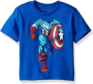 Toddler Boys' Captain America Short Sleeve T-Shirt