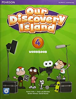 Our Discovery Island American Edition Workbook with Audio CD 4 Pack