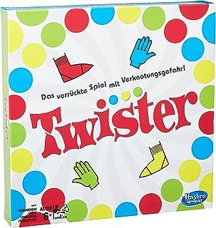 Hasbro Gaming Twisterspel, partyspel voor gezinnen en kinderen, twisterspel vanaf 6 jaar, klassiek spel voor binnen en buiten