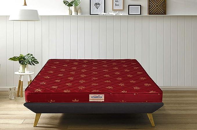 Springtek Amaze Eco 4 inch Single Bed High Density  HD  Foam Mattress  72x30x4 inches