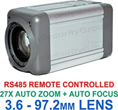 Urban Security Group Analog Box Camera : Sony Chipset 700TVL All-in-One 3.6-97.2mm Lens 27x Auto-Zoom + Auto-Focus Box Security Camera: RS485 Control, Enhanced Effio-E, Low Illumination
