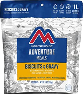 Freeze Dried Backpacking & Camping Food - 2 Servings
