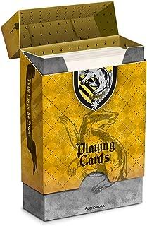 Cartamundi Huffl Harry Potter House Playing Cards-Hufflepuff