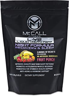L-Y2 Night (Scroll Down & Compare): Improves Deep REM Sleep, Expedites Muscle & Injury Recovery, Reduces Aches & Pains, Assists Anti-Aging, Brain Health Support. 19,300 MGS Ingredients Per Serving!