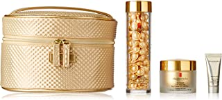 Elizabeth Arden Ceramide Lift and Firm youth Restoring Solutions for Women - 4 Pc Set 90caps Advance, 1152.12 g