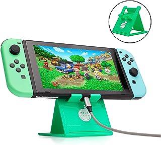Vikisda Nintendo Switch/Switch Lite 対応 任天堂どうぶつの森 プレイスタンド スタンド プレイスタンド 卓上ホルダー ニンテンドースイッチス...