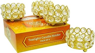 Shubhkart Tea Light Candle Holder Pack of 4