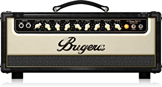 BUGERA V22HD 22-Watt Vintage 2-Channel Amplifier Head with Infinium Tube Life Multiplier and Reverb Brown & Cream, (V22HDINFINIUM)