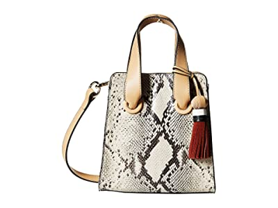Vince Camuto Suni Small Satchel (Seashell Multi) Satchel Handbags