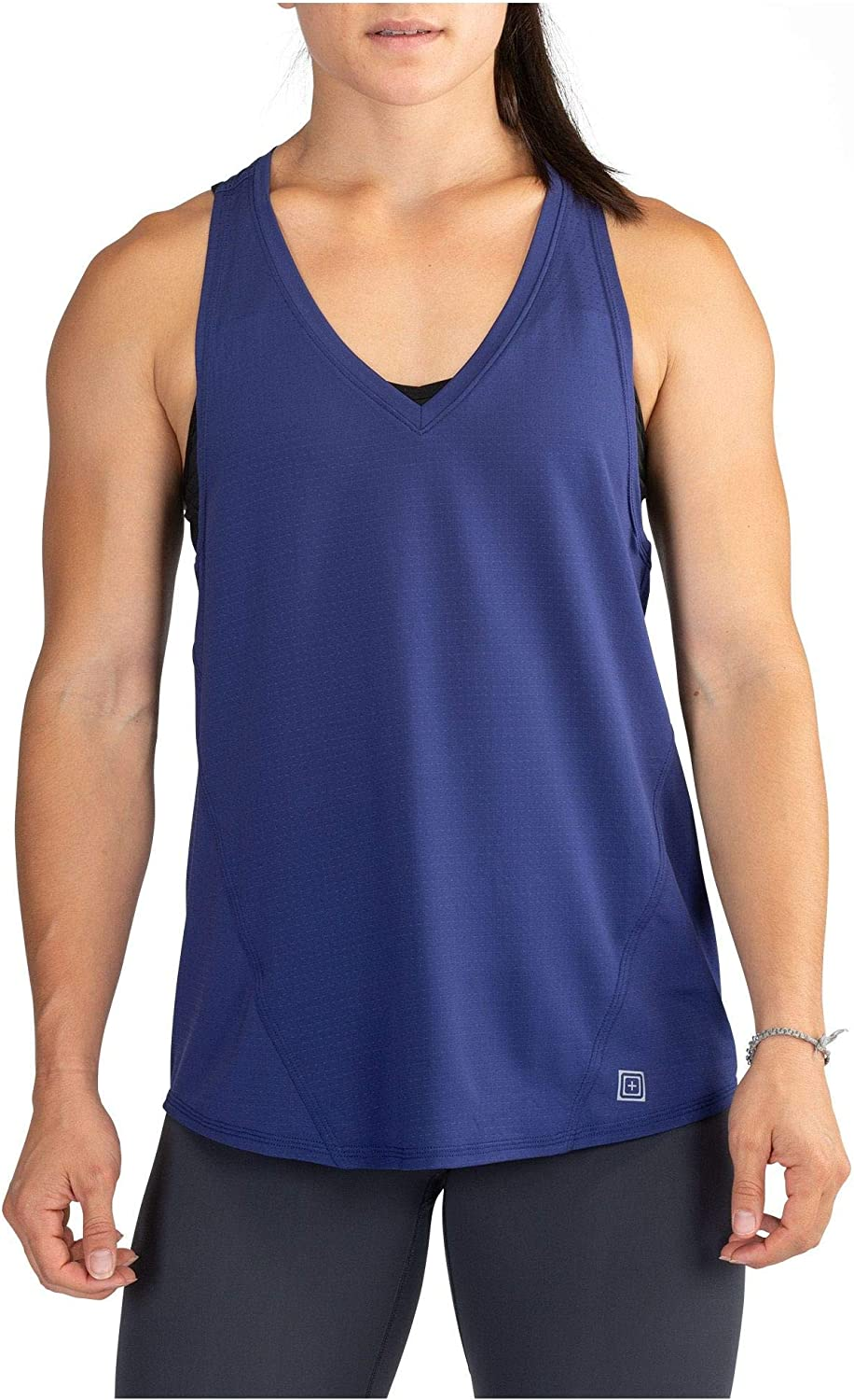5.11 Tactical Women's Recon Becky Tank Top, Mesh Performance, Wicking and Anti-Odor Finish, Style 66000