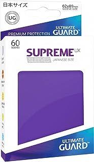 Ultimate Guard Supreme Japanese UX Card Sleeves (60 Piece), Purple