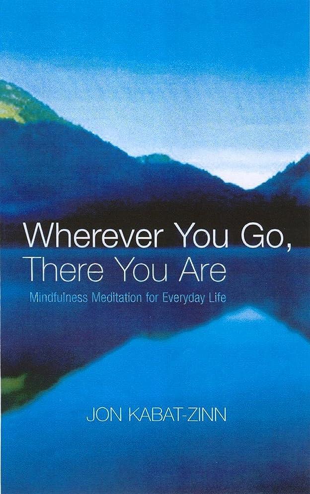 お尻懐疑的ミキサーWherever You Go, There You Are: Mindfulness meditation for everyday life (English Edition)