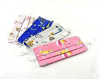 4 Mascarillas de tela reutilizable lavable, mascarilla homologada, mascarilla higienica infantil