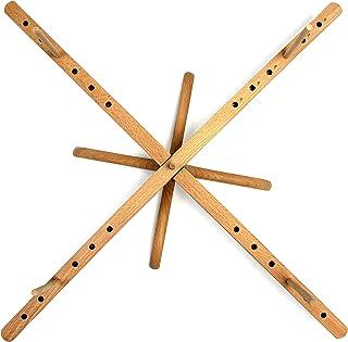 Stanwood Needlecraft Tabletop Amish Style Wooden Yarn Swift, 2.5-6-Feet (YW-3)