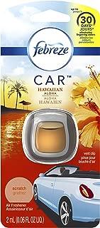 Febreze Air Freshener, Car Vent Clip Air Freshener, Hawaiian Aloha Air Freshener