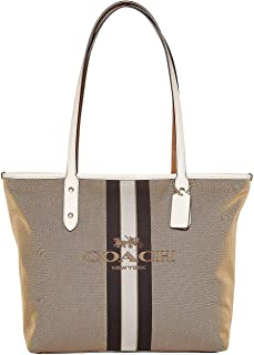 Horse and Carriage Jacquard City Tote