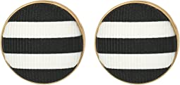 Kate Spade New York - Set Sail Button Studs Earrings