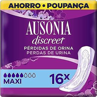 Ausonia Discreet Plus Long Compresas para Pérdidas de Orina