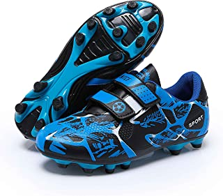 Boys Football Boots Shoes Kids Girls FG/AG Soccer Athletics Sport Shoes Training Shoes Running Shoes Teenager Indoor Outdo...
