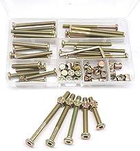 Pk 2-8 Allen key? YZP Bed//Bunk LONG Bolts 15 x 12 Barrel Nuts 100mm x M8 Bolt
