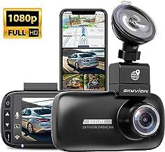 SKYVIEW-Dash-Cam-WiFi-GPS-دوربین امنیتی-برای-بوف اتومبیل-دید-شب-جلو-Dashcam 1080P-دوربین مخفی-دوربین-پارکینگ-حالت-داش-دوربین-برای-اتومبیل با حرکت LCD 2.7 اینچ- تشخیص-رانندگی-ضبط-برای-کامیون