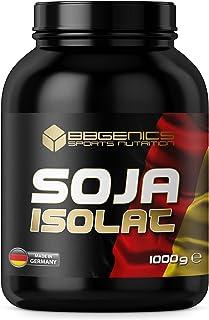 BBGENICS Deutschland - Soja Isolat, proteína en polvo, 1000g vainilla