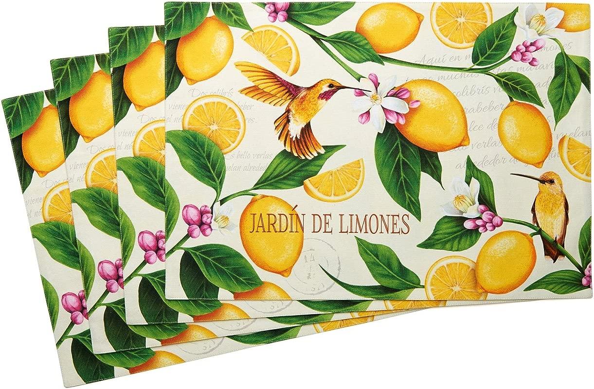 Lemon Garden Placemats