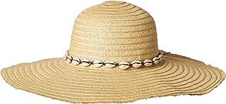 Steve Madden Women's Floppy Hat, Natural, One Size