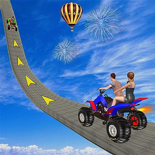 ATV Quad Bike Mega Ramp Stunts Games