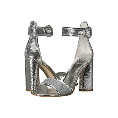 GUESS Abha (Silver/Argento Fabric) High Heels